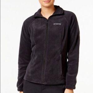Columbia women's Fleece Jacket Black Size L